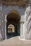 Portique du palais de Pena Photos stock