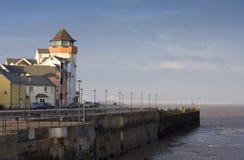 Portishead Hafen Stockfoto