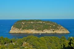 Portixol Island Royalty Free Stock Image