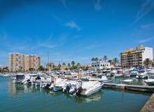 Portixol marina Stock Photography