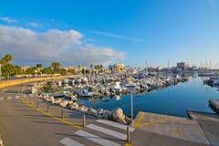 Portixol marina Stock Photo