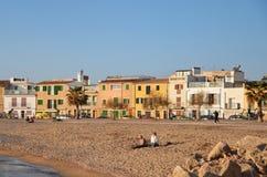 Portixol, Palma de Mallorca Immagine Stock