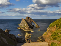 Portknockie, le violon d'arc Photo stock