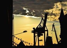 Portkontur Fotografering för Bildbyråer