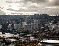Портленд Орегон стоковая фотография rf