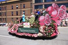 Portland - 12 giugno - 2010: Parata di festival della Rosa Fotografia Stock