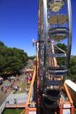 PORTLAND - 12 JUIN : Le FESTIVAL de ROSE transporte en bac la roue Image libre de droits