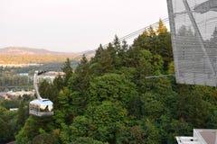 Free Portland Aerial Tram Stock Photography - 123777962
