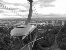 Portland Aerial Tram Stock Photography