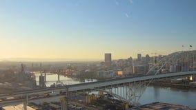 Portland Aerial stock footage