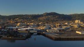 Portland Aerial stock video