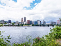 Portland-Ansicht Stockfoto