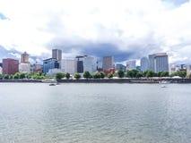 Portland-Ansicht Lizenzfreies Stockbild
