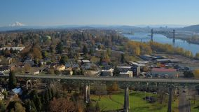 Portland-Antenne stock footage