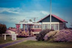 Portland, Australia - 25 settembre 2017: Tram del cavo di Portland a Fotografie Stock Libere da Diritti