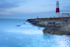 Portland Bill Before Dawn Royalty Free Stock Images