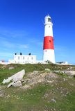 Portland Bill Light House Royalty Free Stock Photos