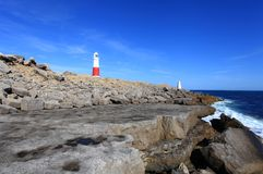 Portland Bill Light House Stock Photography