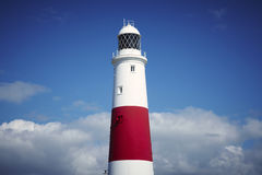 Portland Bill Lighthouse. Dorset England Stock Photo