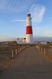 Portland Bill Lighthouse Photo libre de droits