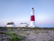 Portland Bill Lighthouse Royaltyfri Fotografi