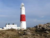 Portland Bill Lighthouse Royalty Free Stock Photos