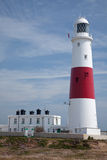 Portland Bill Lighthouse in Dorset Royalty Free Stock Photo