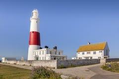 Portland Bill Lighthouse. The lighthouse at Portland Bill, Dorset, England, UK Stock Photography