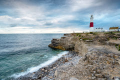 Portland Bill Lighthouse in Dorset Royalty Free Stock Image