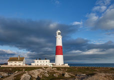 Portland Bill Lighthouse. Dorset Jurassic Coast - World Heritage Site  - England UK Stock Photo