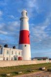 Portland Bill Lighthouse. Dorset Jurassic Coast - World Heritage Site  - England UK Stock Image