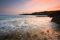Portland Bill lighthouse, Dorset. Stock Image