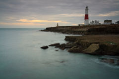 Portland Bill lighthouse, Dorset. Royalty Free Stock Photos