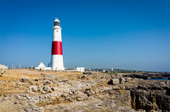 Portland Bill Lighthouse in Dorset, UK Royalty Free Stock Images