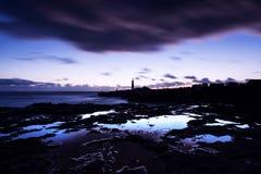 Portland Bill lighthouse by Dusk Stock Photos
