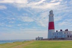 Portland Bill Lighthouse royalty free stock photos