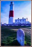 Portland Bill Lighthouse royalty free stock photo