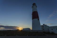 Portland Bill Lighthouse. Isle of Portland, Dorset, England, United Kingdom Royalty Free Stock Photography