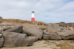 Portland Bill Lighthouse Isle van Portland Dorset Engeland het UK Royalty-vrije Stock Foto's