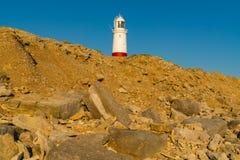 Portland Bill Lighthouse, Jurassic kust, Dorset, UK Royaltyfri Foto