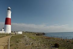 Portland Bill lighthouse on Portland Bill Stock Photos