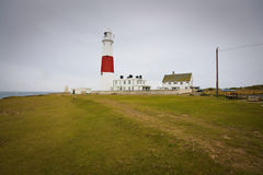 Portland Bill lighthouse, UK. Portland Bill lighthouse in Dorset, UK Stock Images