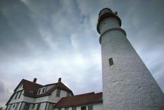 Portland billykta i Maine Arkivfoton