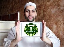 Portland boise le logo de club du football Photographie stock libre de droits