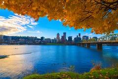 Portland, bord de mer de l'Orégon photographie stock