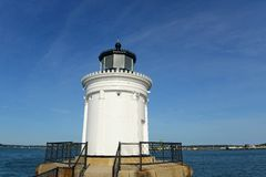 Portland Breakwater Lighthouse, Maine Royalty Free Stock Photography