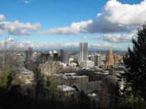 Portland céntrica Imágenes de archivo libres de regalías