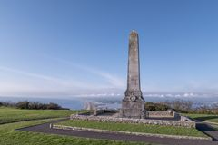 Portland Cenotaph. In Dorset in England Royalty Free Stock Image