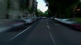 Portland City Driving Dusk stock footage