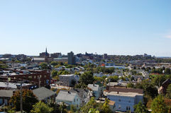 Portland City Skyline, Maine Royalty Free Stock Photography